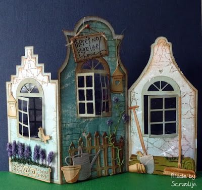 Lijn's scrap&stampin world: There's no place like home....