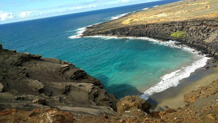 A sunny summer day in Hawaii Nei.