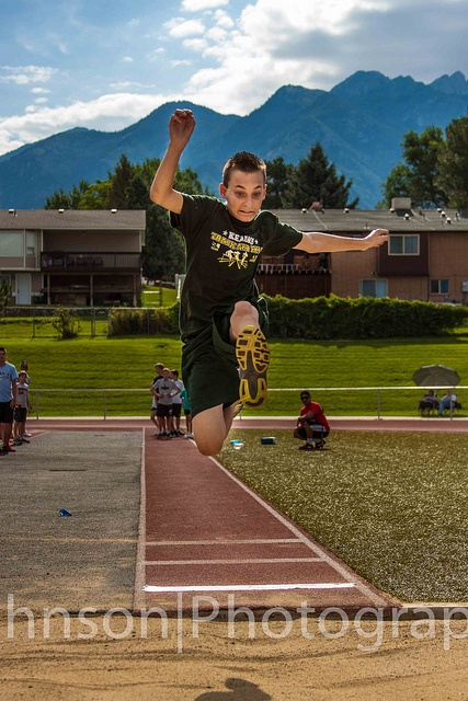 Zach's Long Jump by georgechristopherjohnson, via Flickr