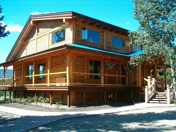 image courtesy of pioneer log homes of b c timber frame homes pinterest posts home and logs. Black Bedroom Furniture Sets. Home Design Ideas