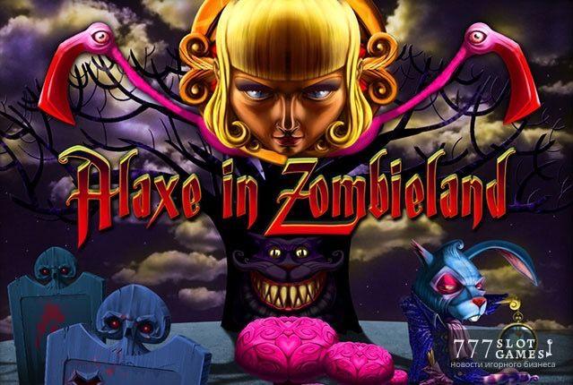 Alaxe in Zombieland - страшные, но веселые приключения на игровом автомате.  Приключения Алисы в Стране Чудес – история всем знакомая, а вот приключения Алекс, отправившейся в Зомбиленд – это что-то новенькое. © 777SlotGames «Новости» #777slotgames #gamblingnews #gamblinglife #zombieland