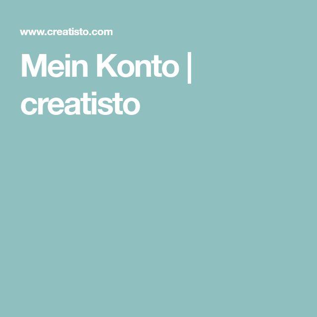 Mein Konto | creatisto