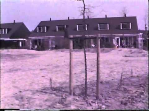Beijum 1982, nieuwe woningen aan de Fultsemaheerd en Jensemaheerd