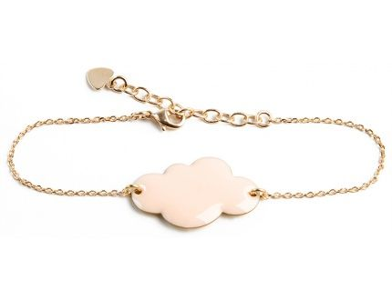 powder pink cloud bracelet
