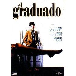 EL GRADUADO, Dirigida por Mike Nichols, Interpretes: Dustin Hoffman , Alice Ghostley. 1967: Oscar Mejor director. 7 nominaciones. De esa unión saltarán chispas pero su relación sufre un giro inesperado cuando, con gran disgusto de la señora Robinson,