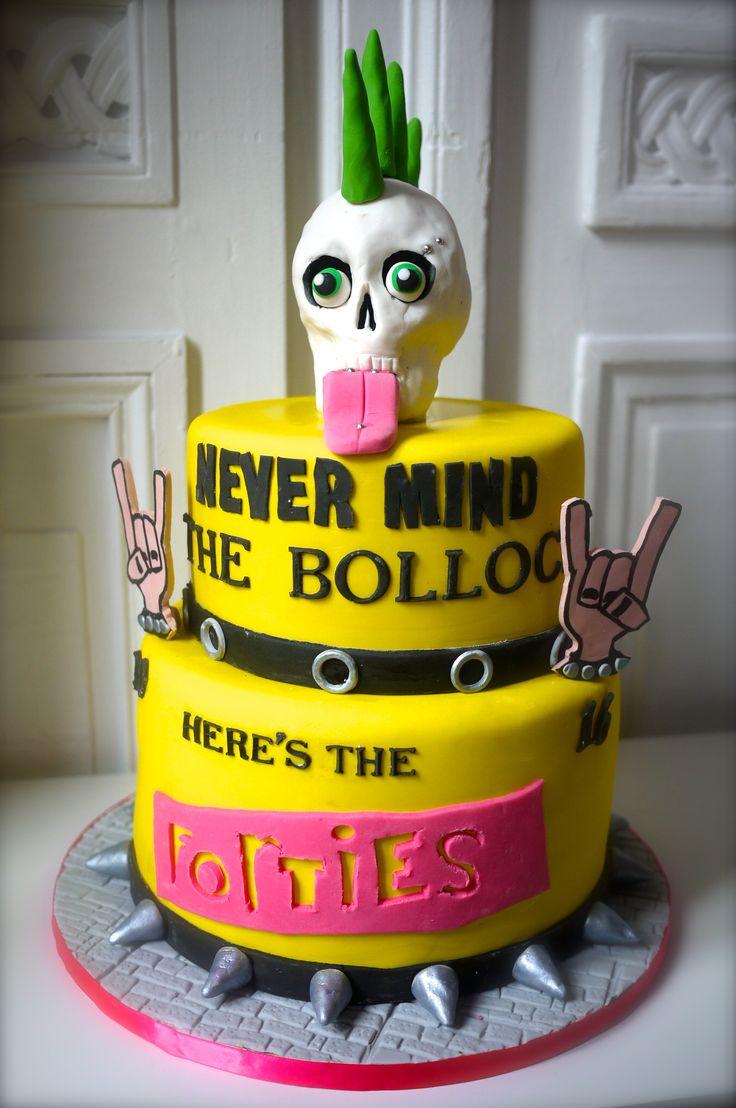 Punk Rock Cake Cake Decor Pinterest Punk Rock Cakes