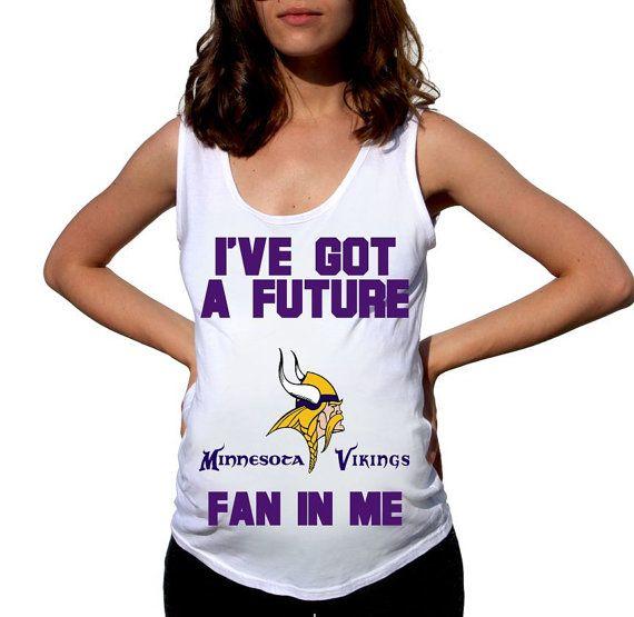 Minnesota Vikings Baby Minnesota Vikings Shirt Women by FreshBreak