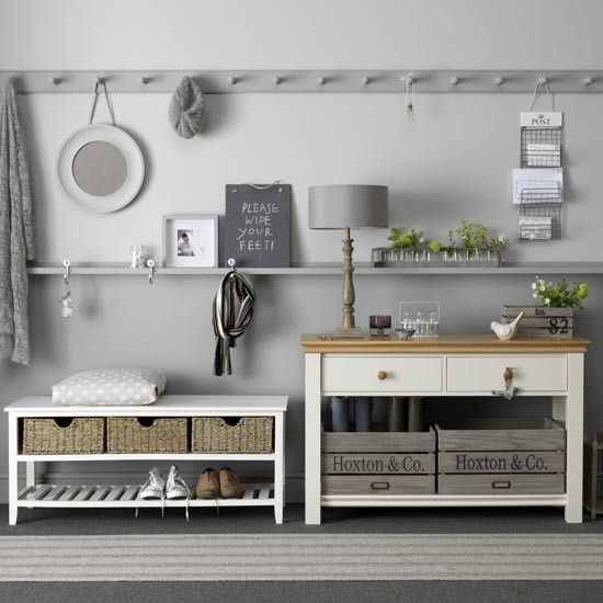 Hall / utility housetohome.co.uk