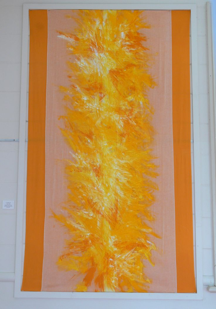 'Yellow 3', Dancing with the Conventions of Painting, Exhibition by Lisa Corston-Buddle, June 2013