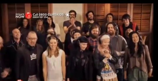 "THE BEST SONG EVER!!  Flight of the Conchords write an all-star song for New Zealand's kids, ""Feel Inside (And Stuff Like That)"""