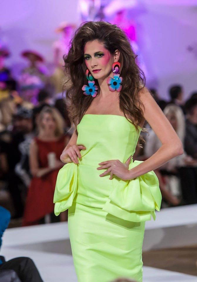 """Women in Mykonos Show"": The complete looks ""Women in Mykonos through the decades…from 30s to 80s…"" Fashion Show Garments By Vassilis Zoulias & Jewellery By Pericles Kondylatos Collection resort s/s 16 Make-up: Manos Vinihakis, Hair: Tryfonas Samaras Intercontinental Grand ballroom / 18th Athens Xclusive Designers Week Sat. oct 24th"