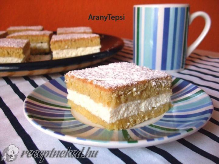 Zsíros túrós sütemény recept   Receptneked.hu ( Korábban olcso-receptek.hu)