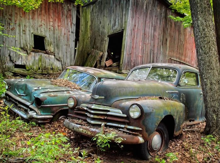 Caught In Time 10 Abandoned Vehicles