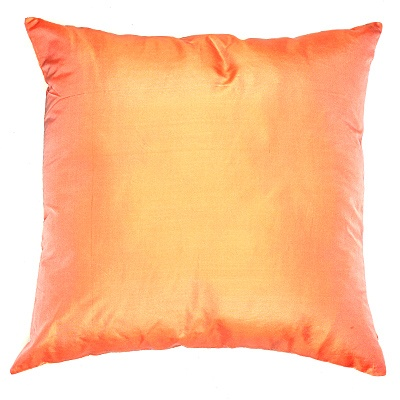 Peach and Vanilla Coloured Cushion Covers