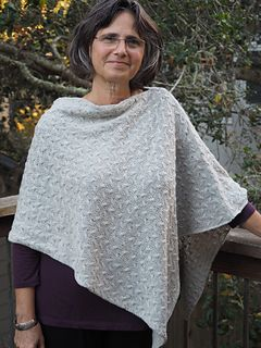 This is my new favorite garment – easy to wear, all-season, flattering and fun to knit!