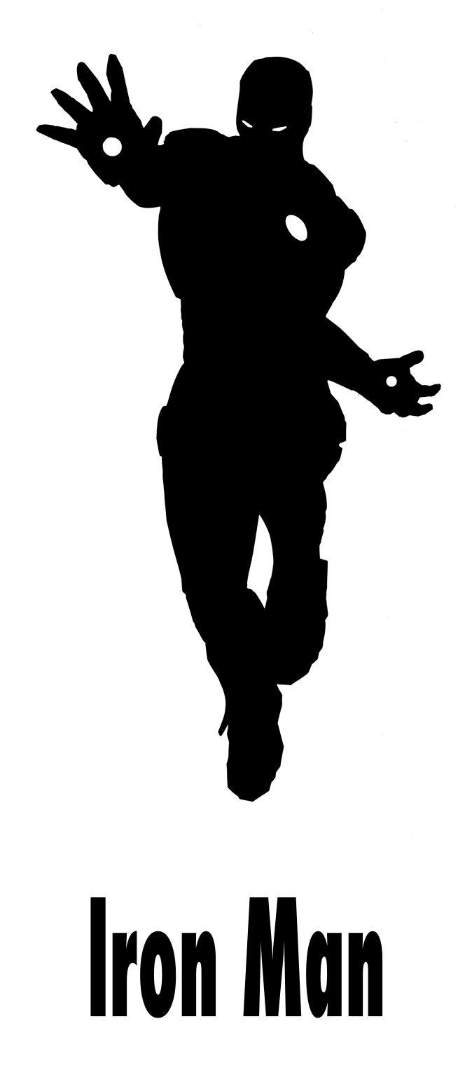 Iron Man silhouette | Tee ideas | Pinterest | Silhouettes ...