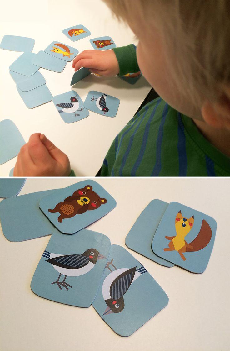 Muistipeli | lasten | lapset | joulu | idea | askartelu | kädentaidot | käsityöt | tulostettava | paperi | koti | leikki | DIY | ideas | kids | children | crafts | christmas | home | games | play | Pikku Kakkonen