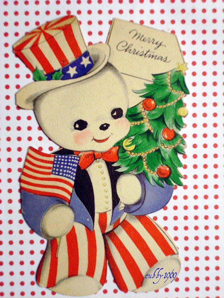 Patriotic Snowman Snowman