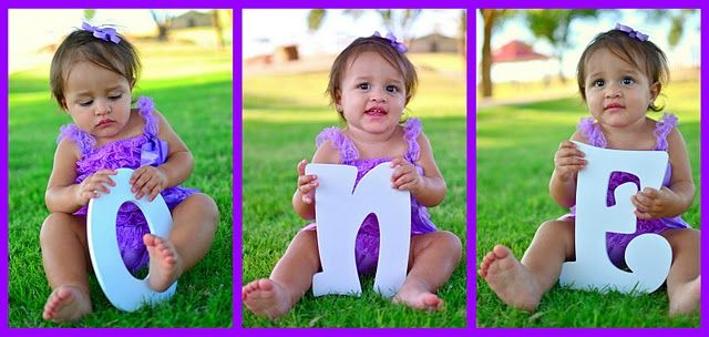 1st Birthday Pictures Idea