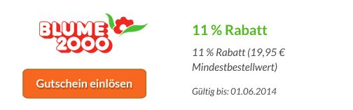 Erhaltet jetzt 11 %  Rabatt und kostenfreie Lieferung mit unserem Blume2000 Gutschein. Mehr Infos hier: http://www.blumenanbieter.com/blume-2000
