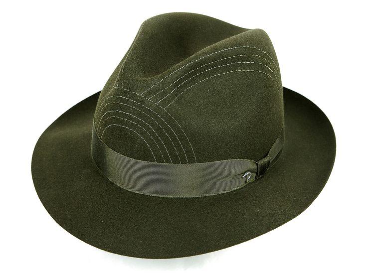 ALFIERI Felt Dark Green Hat is available now at http://finaest.com/designers/panizza-1879/alfieri-felt-dark-green-hat SHOP IT NOW!