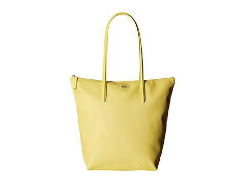 LACOSTE L.12.12 Concept Vertical Shopping Bag. #lacoste #bags #shoulder bags #leather #