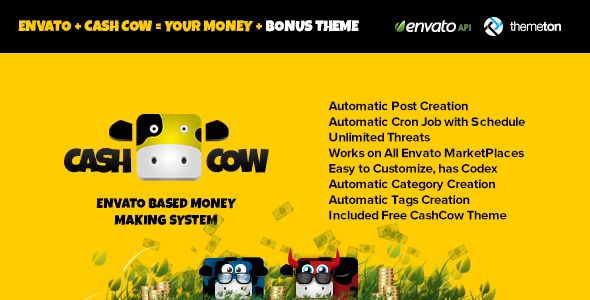 CashCow - Affiliate Based Money Making System (Miscellaneous) Download - PROFIREFOX