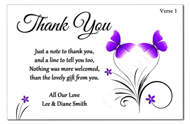 Thank You Message For Wedding Gift Money : ideas about Sample thank you notes on Pinterest Thank you letter ...