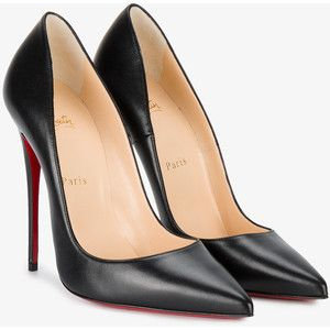 nouveau style e3f0e b926d Christian Louboutin Black Leather So Kate 120 pumps | Heels ...