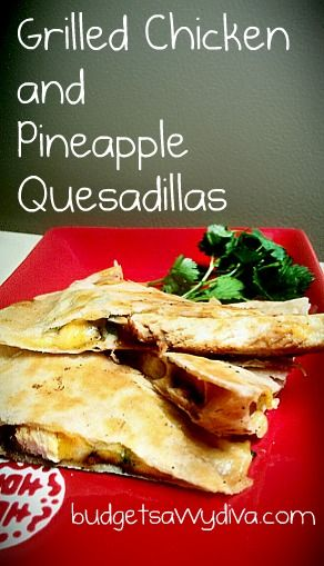 Grilled Chicken & Pineapple Quesadillas: Pineapple Yum, Recipe, Quesadillas Yum, Press Yum, Grilled Chicken, Chicken Pineapple, Sound Yummy, Pineapple Quesadillas, Pineapple Chicken Quesadillas