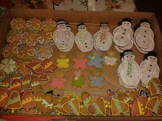 vianočné perníky pre deti