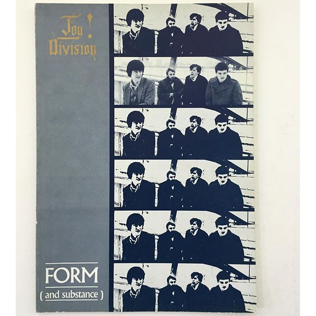 idea.ltd The Joy Division illustrated discography Form (and substance). 1988. Photographs by Kevin Cummins and Ian Curtis's death certificate too. As proof. Perhaps. Email if you want@ideanow.online #joydivision #form #substance #1988 2016/05/04 01:27:38
