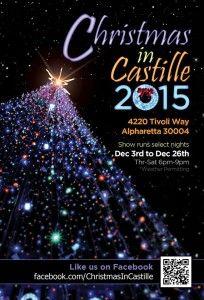 Christmas Light Shows Around Forsyth County, GA in 2015