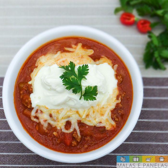 Receita: Chili - Tex-Mex fácil e saboroso