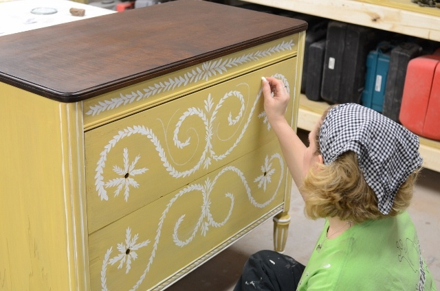 love the dresser! Great post too.