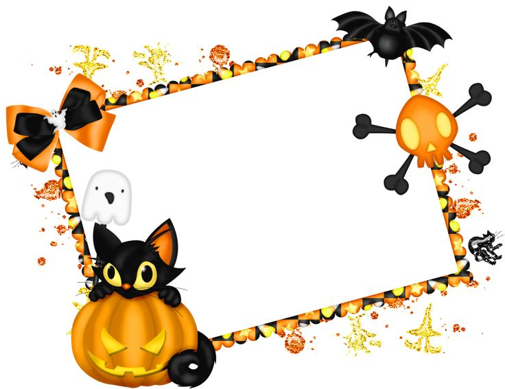 cute halloween border frame free clip art childrens halloween frame submitted by liz aragon on tue description from i searched for this on