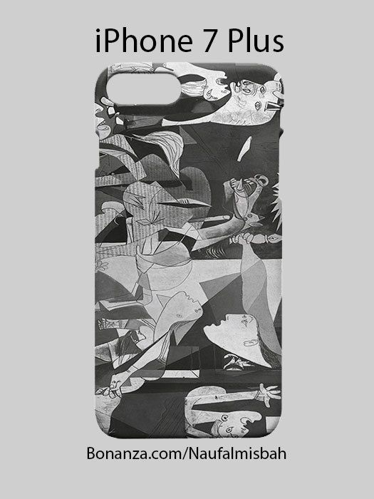 Paint Guernica Picasso iPhone 7 PLUS Case Cover Wrap Around