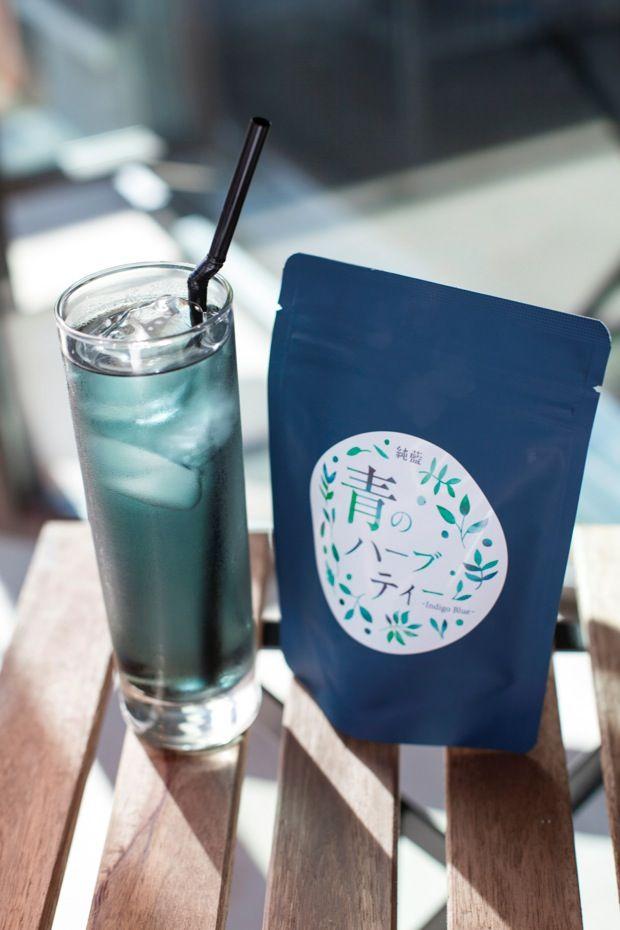 真っ青な色が涼しげ!日本の藍「タデ藍」をブレンドした 「青のハーブティー」|ローカルニュース!(最新コネタ新聞)鳥取県 米子市|「colocal コロカル」ローカルを学ぶ・暮らす・旅する