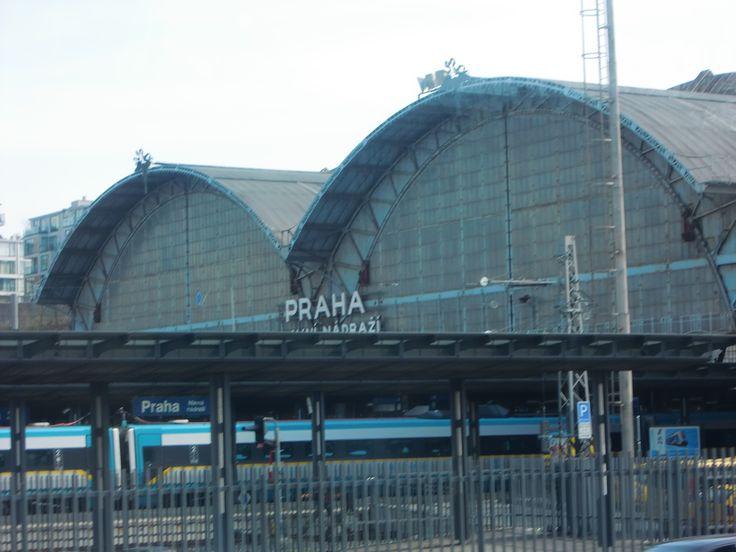 Prag Hauptbahnhof hlavní nádraží Mainstation