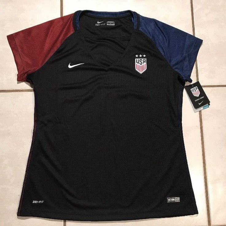 NWT NIKE USA National Team 2016 Soccer Jersey Women's XL  | eBay