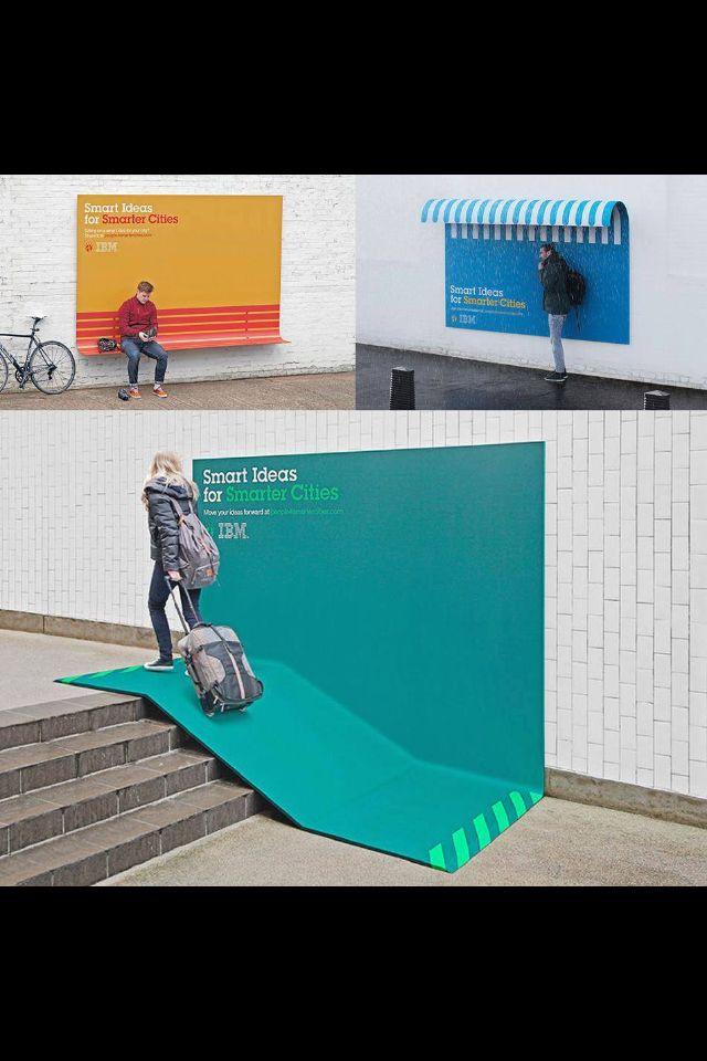 Guerilla Marketing IBM. Make people notice you