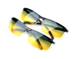 Nočné okuliare s kovovým rámikom
