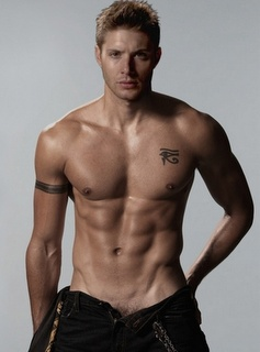 Jensen, your button's undone ...and so am I.