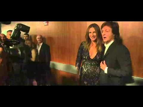 ▶ Paul McCartney backstage at the 2014 GRAMMYS. This is a great little video.