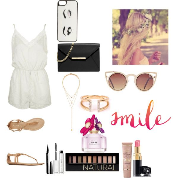 Daisy by smartyjones on Polyvore featuring polyvore, мода, style, Topshop, Report, MICHAEL Michael Kors, Forever 21, Adina Reyter, Kate Spade and Quay