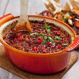 Texas chili med Quorn Färs