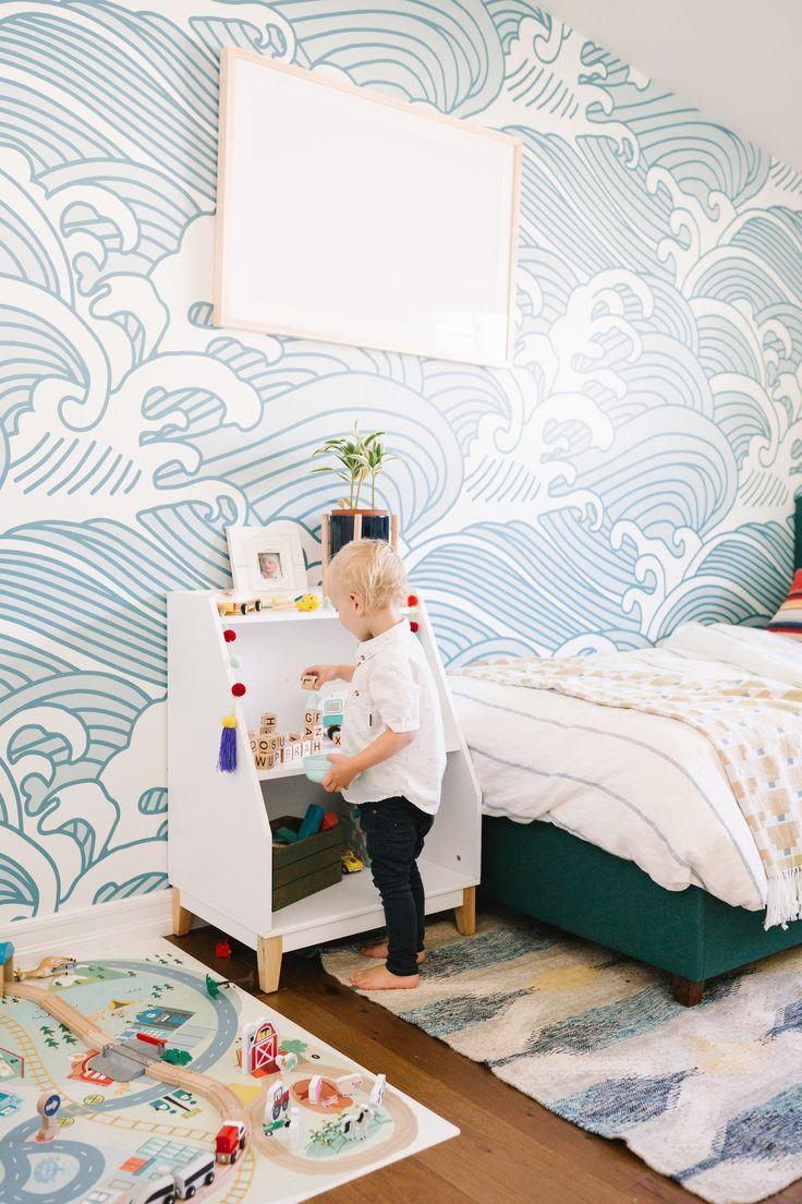 Finn's California Coastal Cool Big Boy Room Reveal