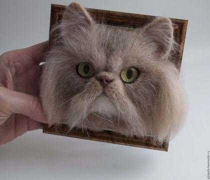 Купить или заказать Мини панно Перс рыжий кот в интернет-магазине на Ярмарке Мастеров. В продолжении антикризисного размера панно - рыжий кот персидской породы. Может стать недорогим милым подарком для любителей этой породы кошек. На заказ киса может быть в любом окрасе и любой породы.