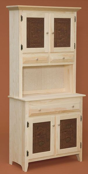 Amish Built Unfinished Pine Furniture Is A Great Canvas To Create Your Own  Unique Design.