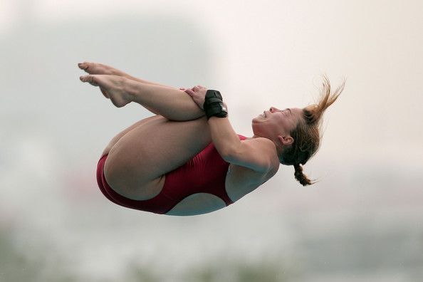 Roseline Filion is a Canadian diver. She competes in the 10 m synchronized event with Meaghan Benfeito. Filion has twice won an Olympic bronze medal in the 10 m platform synchro event: at the 2012 Summer Olympics in London and the 2016 Summer Olympics in Rio de Janeiro. She has also won a bronze at the World Aquatics Championships and Commonwealth Games.